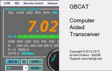 GBCAT – Computer Aided Transceiver v1.2